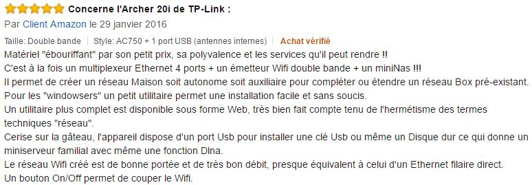 routeur wifi TP-Link Archer C20i avis (2)